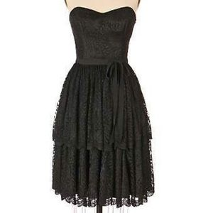 Anna Sui for Anthropologie Sweetheart Lace Dress